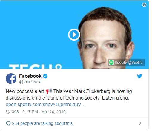 Mark Zuckerberg Launches His Own Podcast - Chat - Mi Community - Xiaomi