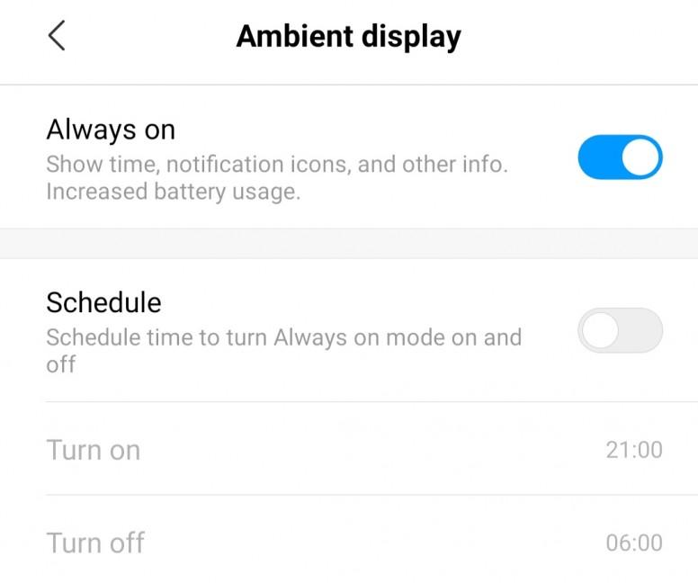 Always On Display - Redmi Note 7 - Mi Community - Xiaomi