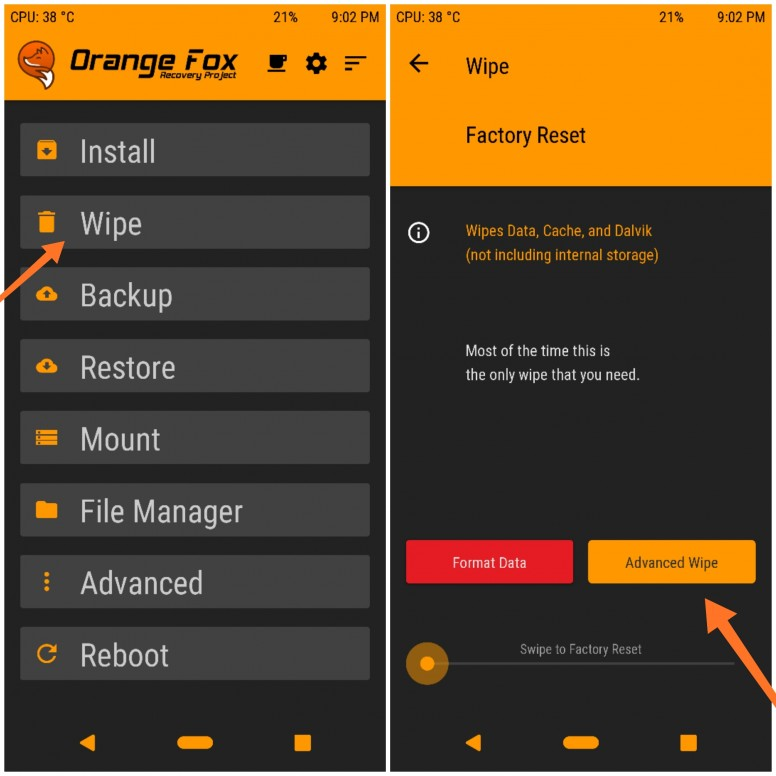 download twrp orangefox redmi 4a