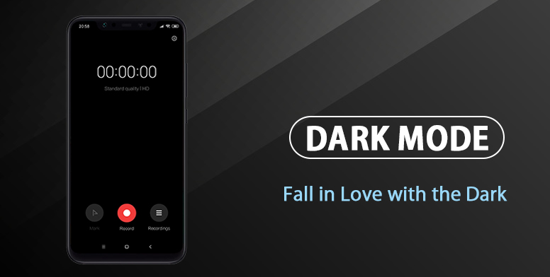 Dark Mode On MIUI : Fall in Love with the Dark! - General