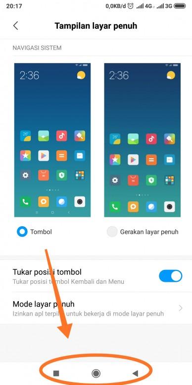 Guys Gimana Caranya Biar Tombol Navigasi Yg Dilingkarin Ini Bisa Hilang Redmi Note 5 Mi Community Xiaomi