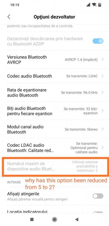 Max no of Bluetooth connections - POCO F1 - Mi Community