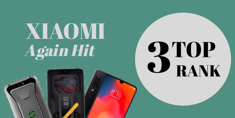 Xiaomi Secures Top 3 Positions At AnTuTu Smartphone List For