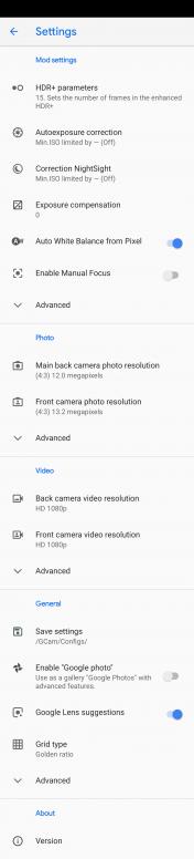 สอบถาม การตั้งค่า gcam - Redmi Note 7 - Mi Community - Xiaomi