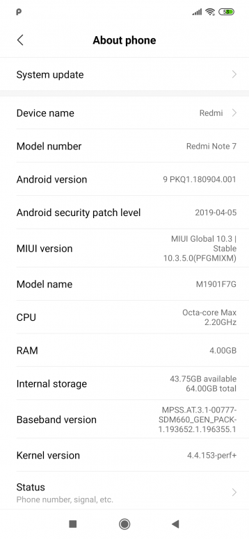 Redmi Note 7 Global Version / Bad audio recording/distorted and