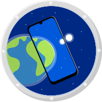 Redmi Note 7 into space