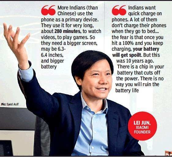 Xiaomi CEO Lei Jun Visits India : Here is an Exclusive
