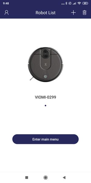 VIOMI V2 (V-RVCLM21B) Robot Vacuum (VIOMI APP VERSION) XEGG
