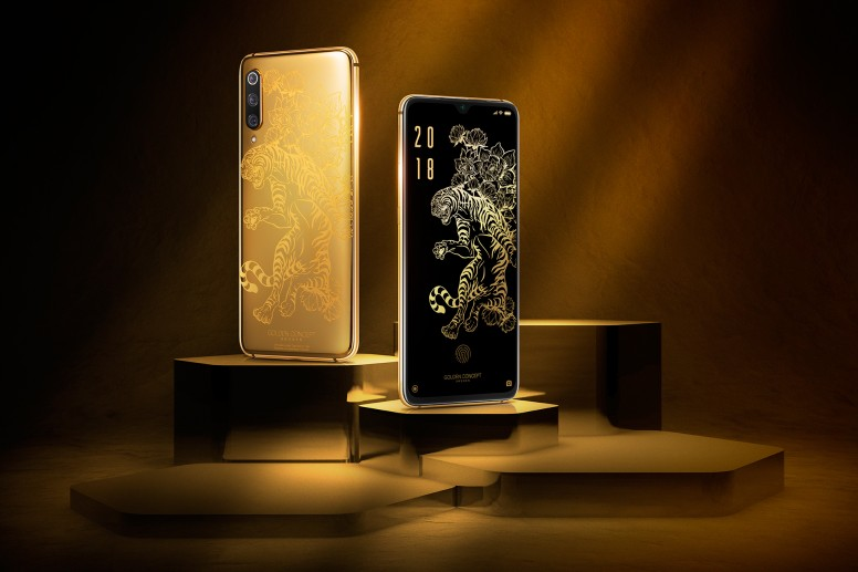 Limited Edition 24K Plated Gold Case for Xiaomi Mi 9
