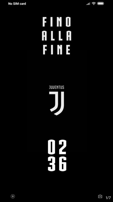 V10 Theme Juventus Temi E Sfondi Mi Community Xiaomi