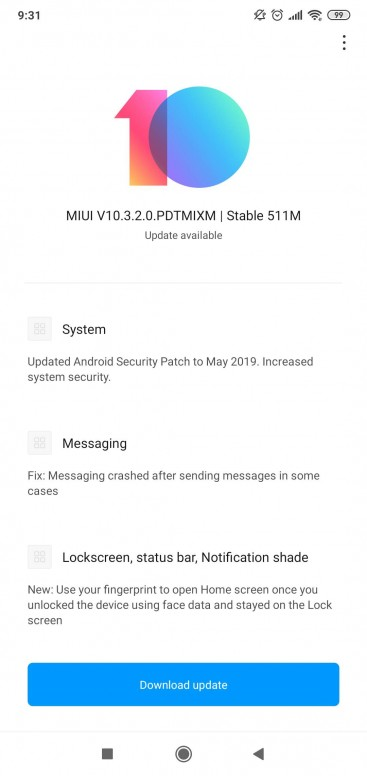 New Global OTA Update - Mi 8 Lite - Mi Community - Xiaomi