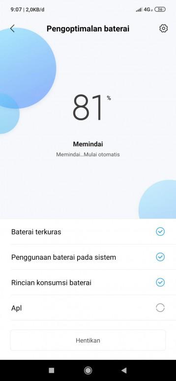 jangan asal download aplikasi penghemat baterai - Redmi Note 7 ...