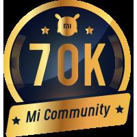70K Mi Fans