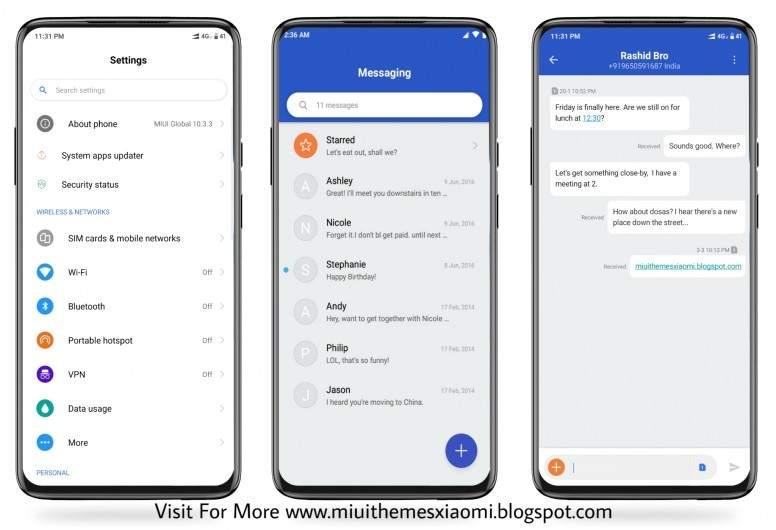 رابط تحميل ثيم Android Q الثيمات Mi Community Xiaomi