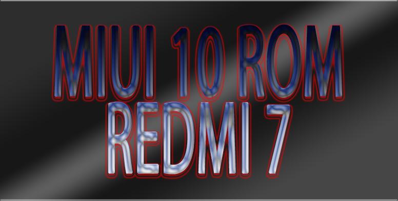 All official MIUI 10 ROM for Redmi 7/7A! - Redmi 7/7A - Mi