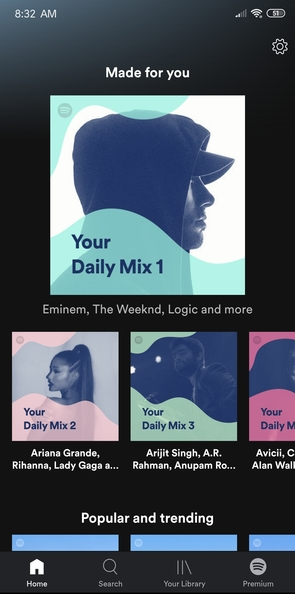 Mi Art] Spotify: Music for Every Mood and Every Moment