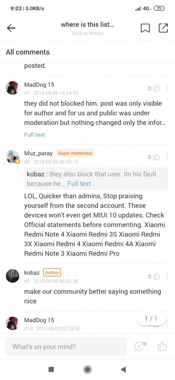where to report harassment on the forum? Help?? - Redmi Note