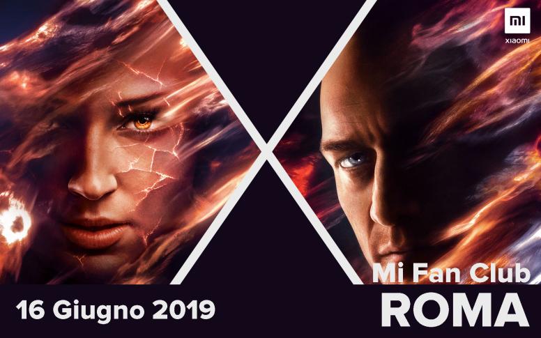 Mi Fan Club Roma Speciale X Men Terrazza Del Pincio 6