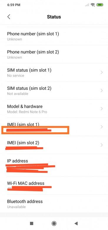 radio off no signal can't make a call HELP - Redmi Note 6 Pro - Mi