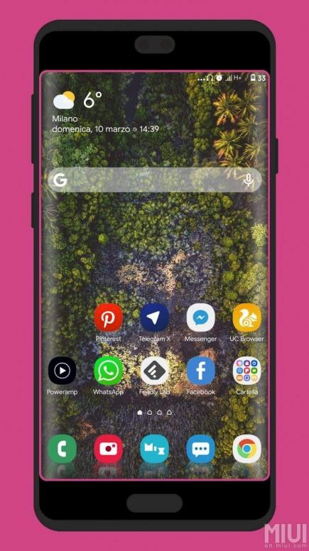 Samsung One UI Night MIUI 10 Theme - الثيمات - Mi Community