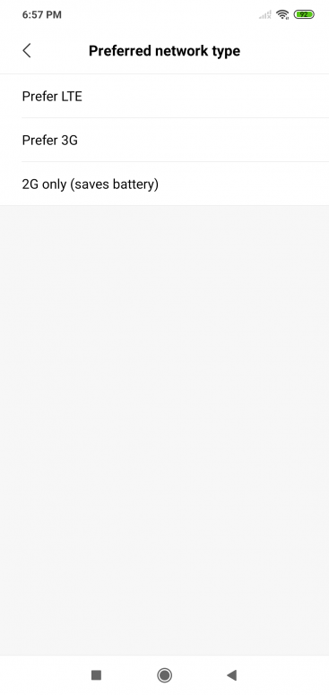 radio off no signal can't make a call HELP - Redmi Note 6
