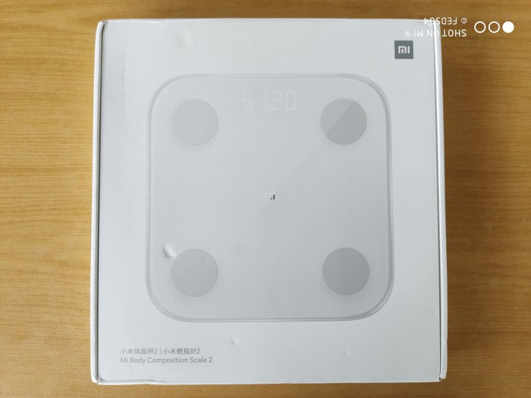 Mijia Body Composition Scale 2 NUN4048GL High Precision BIA Chip Balancing Ability Test