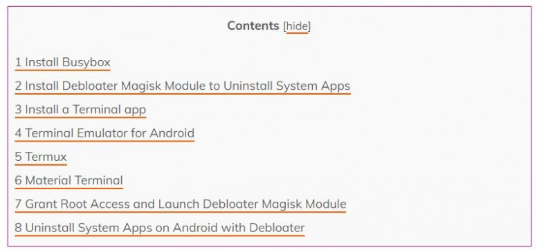 Uninstall System Apps on any Android Phone with Debloater Magisk