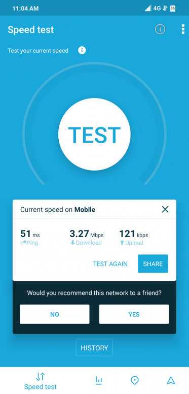 Airtel 4G LTE Advance slow internet speed on Poco F1 - POCO