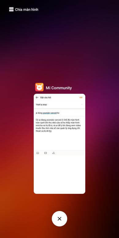 ai dùng youtube vanced ko - Thiết bị khác - Mi Community - Xiaomi