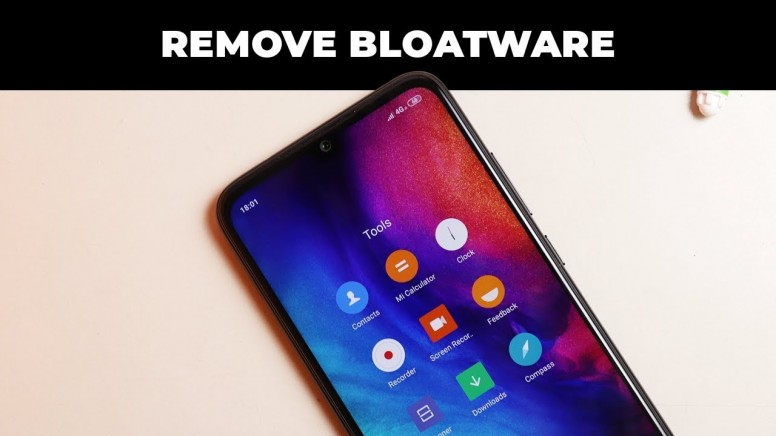 How to Remove Bloatware from MIUI [No Need of Command Prompt