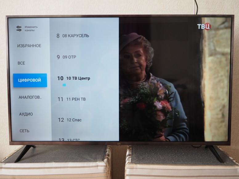 """Xiaomi Mi TV 4S 43"""" Russian Edition: просмотр и настройка эфирных и интернет каналов!"""