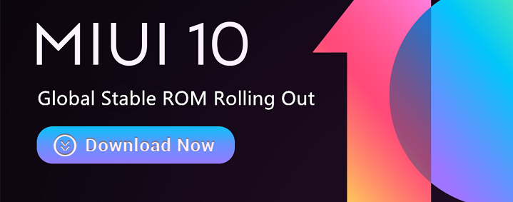 MIUI 10 Global Stable ROM v10 3 1 0 NDDMIXM is released for