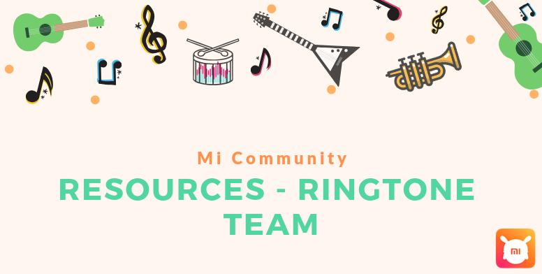 Mi Resources Team] Bewildering Trance and EDM Ringtones for