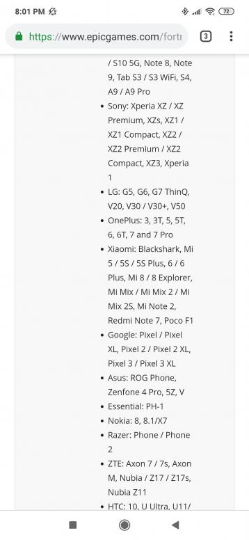 Fortnite on Redmi Note 7 (Lavender) - Redmi Note 7 - Mi Community