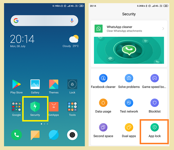 MIUI Beginner's Guide #6] How To Hide Apps To Prevent