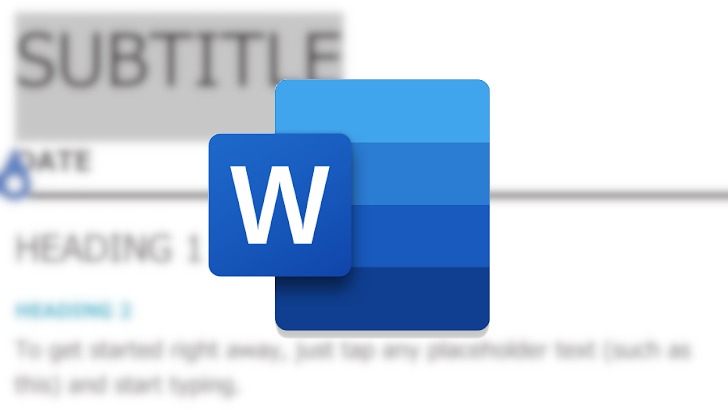 Microsoft Word Passes 1 Billion Install In Google Play Store  - Tech