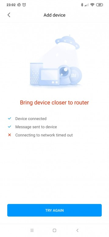 cannot connect Xiaomi WiFi repeater pro in Mi App - Other