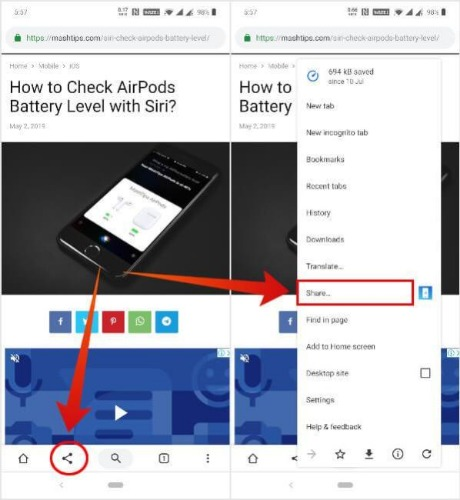 How to Bring Chrome Toolbar to Bottom of Android - Tech - Mi