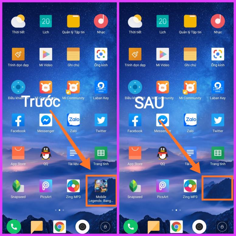 [MIUI Vỡ Lòng #8] Làm thế nào để ẩn ứng dụng riêng tư khỏi màn hình chính?