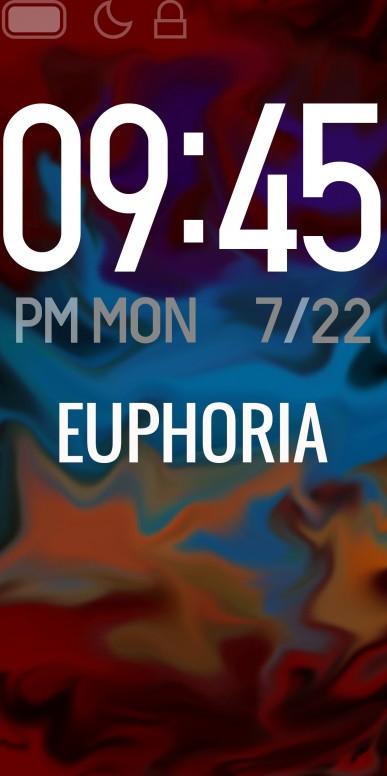 Euphoria - Mi Band 4 Custom Watchface #DesignWithMi - Chat - Mi