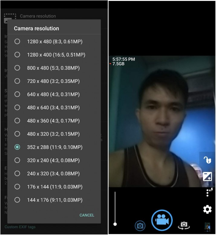 DARK front camera in video call apps using Redmi Note 7