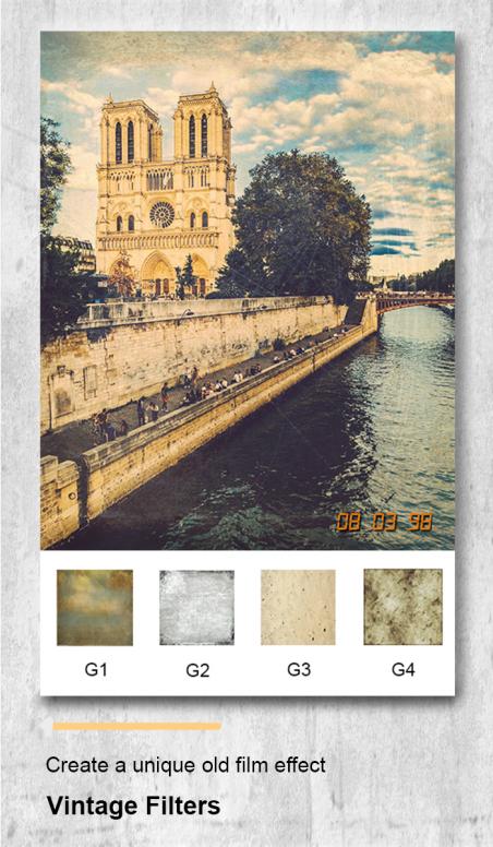 Ucam - Vintage Camera - Retro Filter - Old Photo - App - Mi