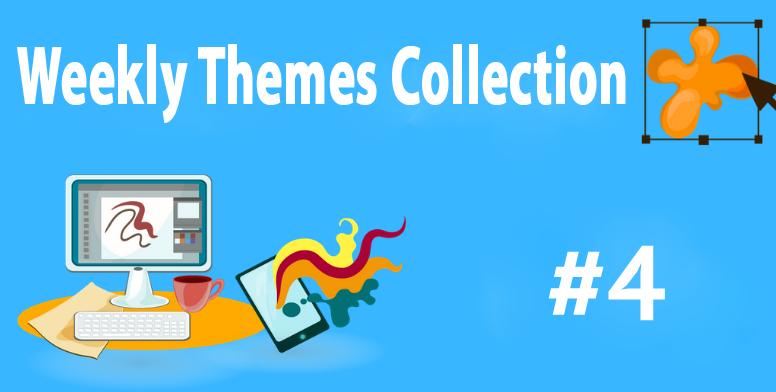 Weekly Themes #4] PixPie, MDark Velvet, Star trail, Rain & More