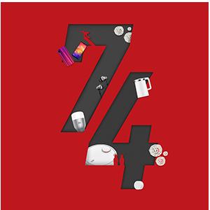 Dirgahayu ke-74 Indonesia