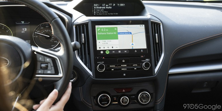 Google Maps rolls out new shortcut buttons on Android Auto