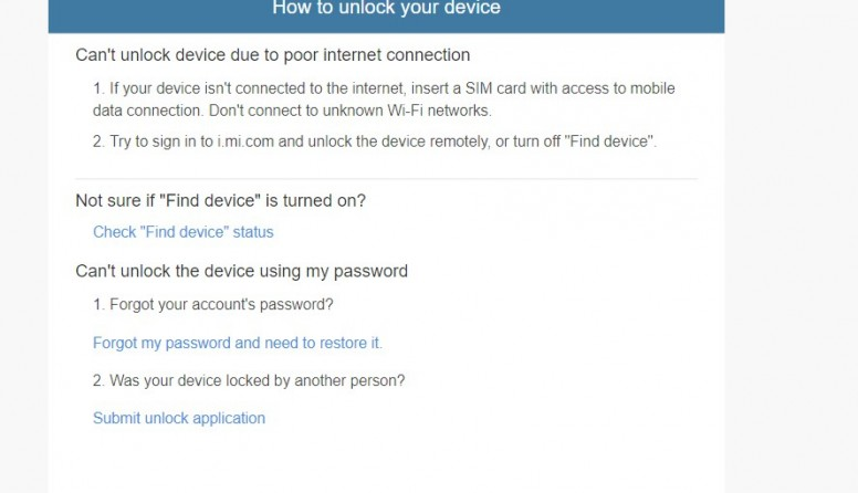 How to Unbound Device from MI Account officially! Without