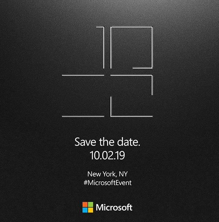 Microsoft Issues Save The Date For Expected October Hardware Event Tech Mi Community Xiaomi