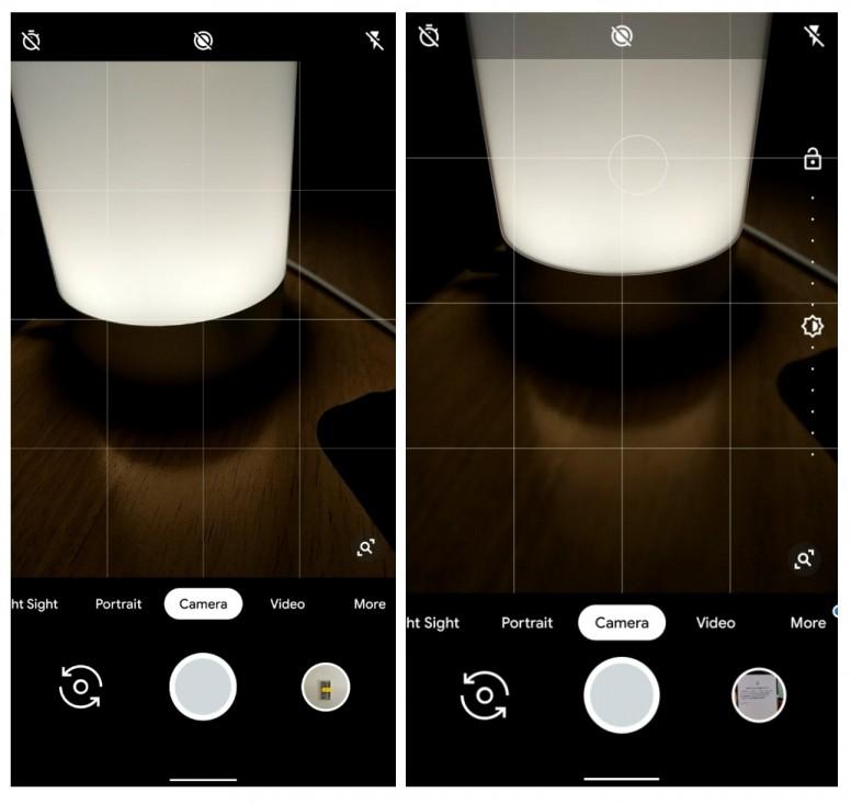 New Google Camera 6 3 version adds transparent top bar