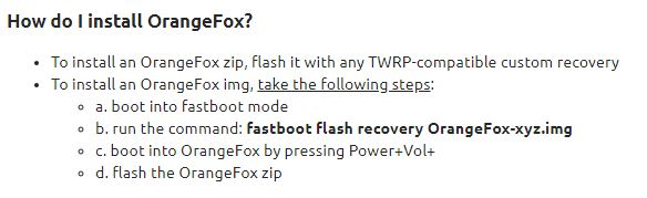 Anyone know how to make Orange Fox Recovery permanent