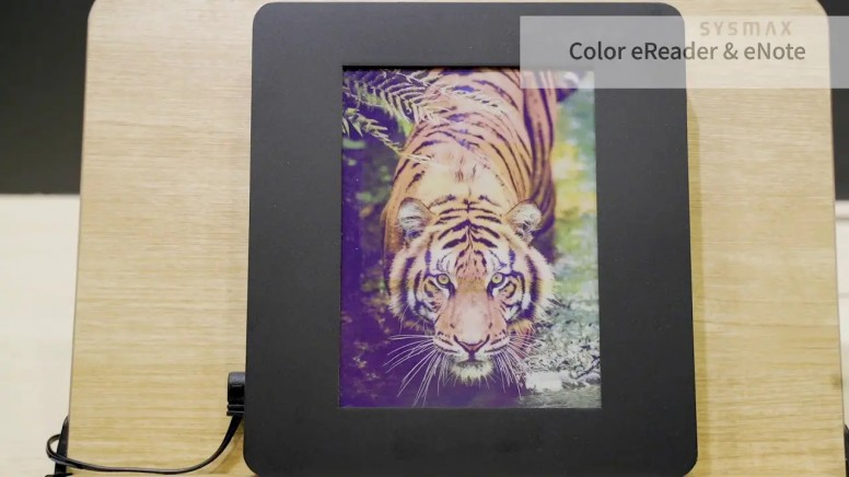 Here Is A First Look At The New Color E Reader From E Ink